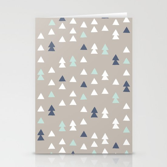 Little Triangles Stationery Card