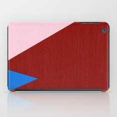 Blue Triangle iPad Case