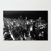 The City Where Wind Blow Canvas Print