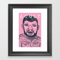 Portrait By Evan Framed Art Print