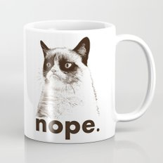 GRUMPY CAT - Nope (version 2) Mug