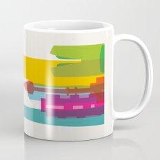 Shapes of Seoul accurate to scale Mug
