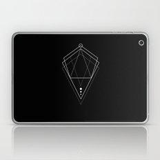 Hologram geometry black Laptop & iPad Skin