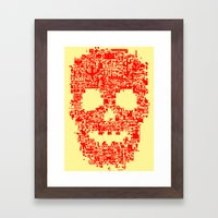 8-bitter Framed Art Print