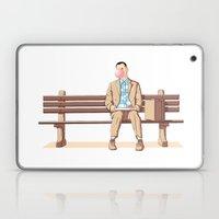 Bubble Gump Laptop & iPad Skin