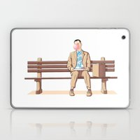 Bubble Gump Laptop & iPad Skin