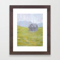 Safe Pasture Framed Art Print