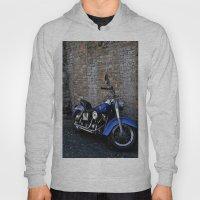 Blue Motorcycle Hoody