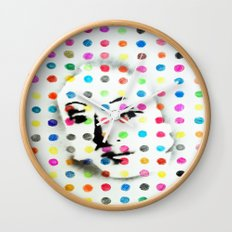 VENUS IN HIRSTIAN DOTS Wall Clock
