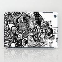 mind blown iPad Case