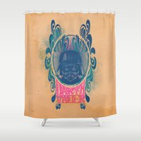 Psychedelic Vader Shower Curtain