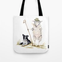 Sheepherd Sheep Tote Bag