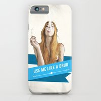 iPhone & iPod Case featuring Use Me Like a Drug by keith p. rein
