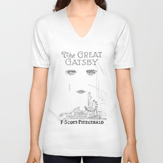 The Great Gatsby V-neck T-shirt