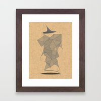 In Pursuit of the Magi Framed Art Print