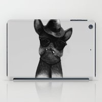 French Dog Blues iPad Case