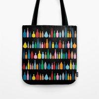 Black Bottle Multi Tote Bag