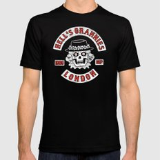Hell's Grannies 1969 Black Mens Fitted Tee SMALL