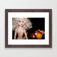 9 Ball Framed Art Print