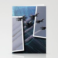 USAF Thunderbirds Stationery Cards