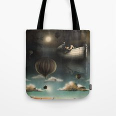 Above, Below, & Beyond Tote Bag