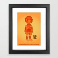 BBQ Time Framed Art Print