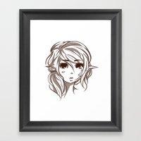 Elven Framed Art Print