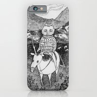 iPhone & iPod Case featuring Sami fox by Ulrika Kestere