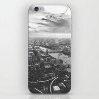 London Skyline BW iPhone & iPod Skin