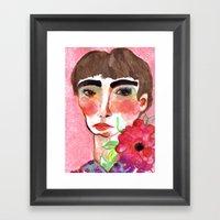 Cameo #6 Framed Art Print