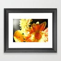 Dahlias 4 Framed Art Print