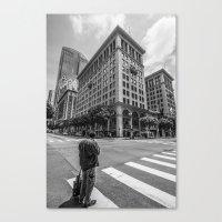 Alone In LA Canvas Print