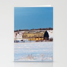 Barn Gets A Little Glow … Stationery Cards