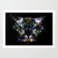 My Eagle - Magic Vision Art Print
