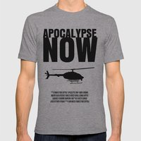Apocalypse Now Move Poster Mens Fitted Tee Athletic Grey SMALL