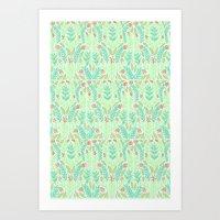 Tiny Flora Art Print