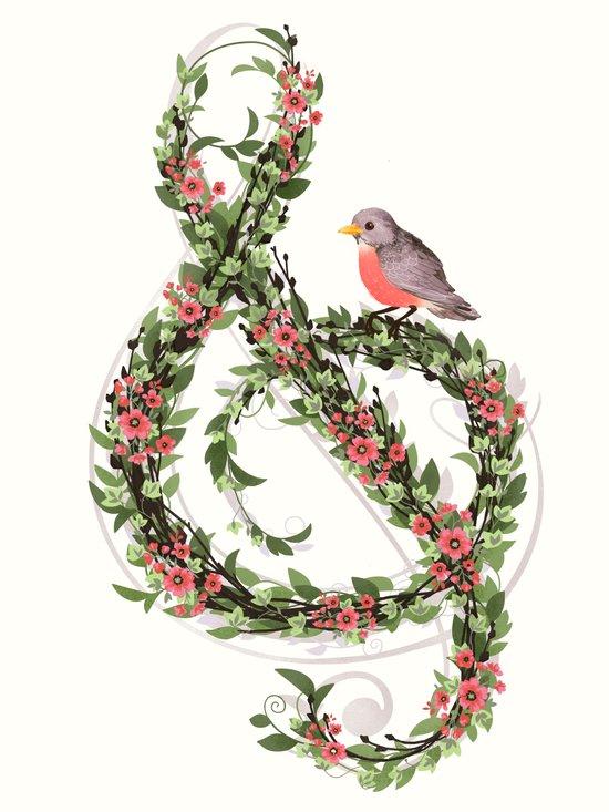 Robin's Song Canvas Print