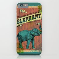 iPhone & iPod Case featuring My Favorite Elephant by Bili Kribbs