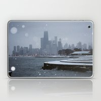 Chicago in the Snow Laptop & iPad Skin