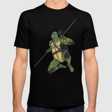 Donatello Black SMALL Mens Fitted Tee