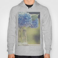 Blue Hydrangea Hoody