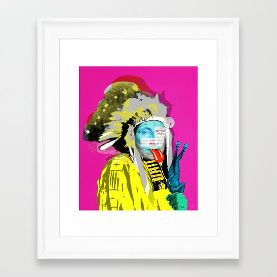 Indian Pop 96 Framed Art Print