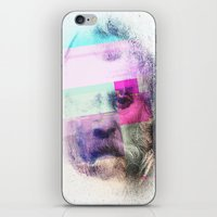 Glitch-face iPhone & iPod Skin