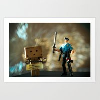 Busted Art Print