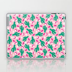 Not So Much - cactus memphis triangle throwback retro 80s bright neon pattern Laptop & iPad Skin