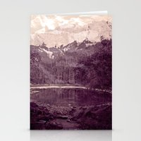 Olden Days Memories of the Mountain calling Stationery Cards