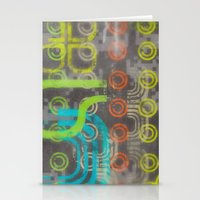 Op Ning A Nu Rave Keyboa… Stationery Cards