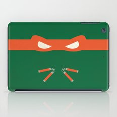 Orange Ninja Turtles Michelangelo iPad Case