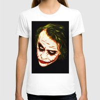 joker T-shirts featuring Joker by William Cuccio aka WCSmack