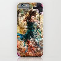 iPhone & iPod Case featuring Fairy Painting by Florian Ruocco a.k.a AKSHOBHYIA